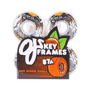 Колеса для скейтборда  Wes Soty Keyframe 87a 54 Mm White Oj. Цвет: белый