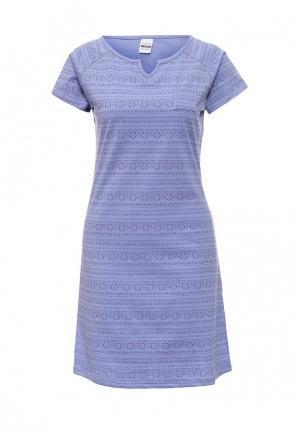 Сорочка ночная Vis-a-Vis. Цвет: фиолетовый