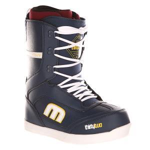 Ботинки для сноуборда  Lo-cut Navy Thirty Two. Цвет: синий