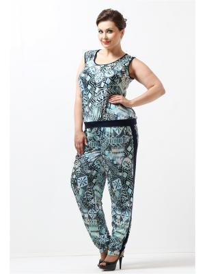 Комплект одежды Lina. Цвет: бирюзовый