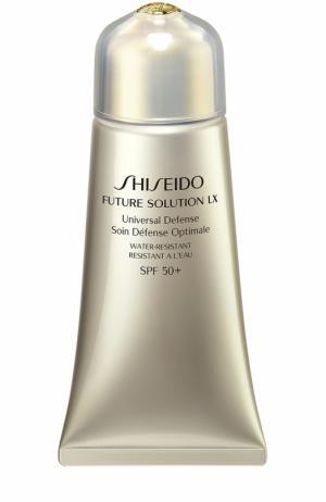 Универсальный защитный крем Future Solution LX Shiseido. Цвет: бесцветный