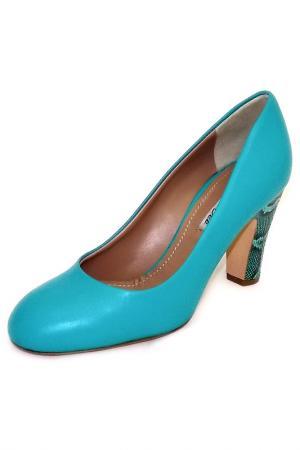 Туфли Julie Dee. Цвет: голубой