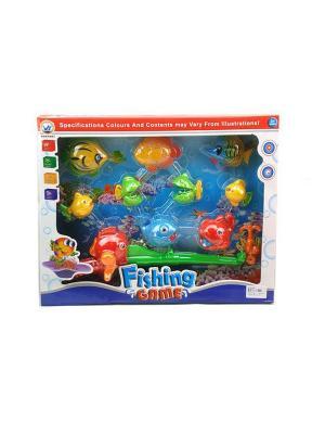 Игровой набор Рыбалка S-S. Цвет: желтый, зеленый, красный