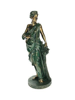 Статуэтка Греческая богиня плодородия и земледелия - Деметра Русские подарки. Цвет: бронзовый