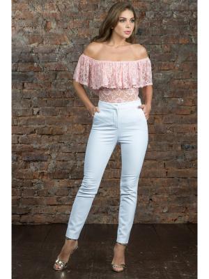 Блузка-боди MONDIGO. Цвет: персиковый, светло-бежевый
