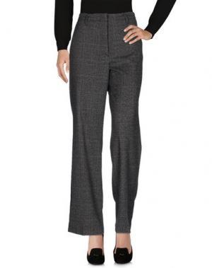 Повседневные брюки HOPPER. Цвет: стальной серый