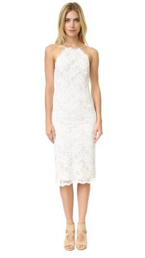 Платье Clover Stone Cold Fox. Цвет: белый