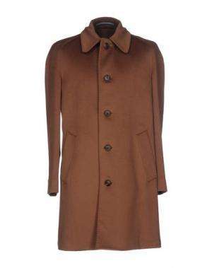 Легкое пальто CANTARELLI. Цвет: коричневый