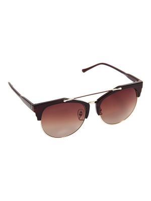 Солнцезащитные очки Kameo-bis. Цвет: черный, золотистый