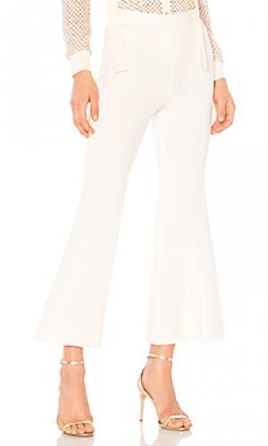 Укороченные брюки burdan Rachel Comey. Цвет: кремовый