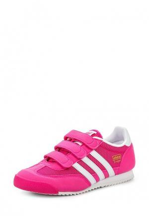 Кроссовки adidas Originals. Цвет: розовый