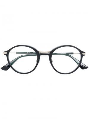 Очки Essence 5 Dior Eyewear. Цвет: чёрный
