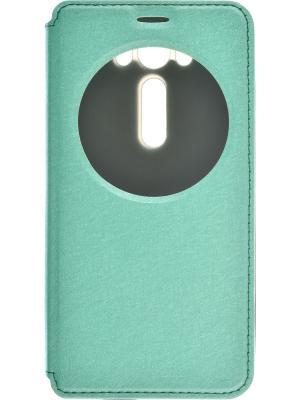 Чехол-книжка skinBOX MS AW для Asus Zenfone Laser 2 ZE500KL. Цвет: зеленый