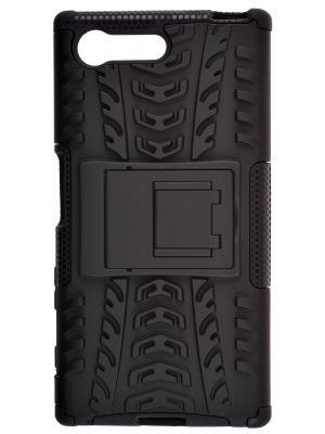 Накладка skinBOX Defender case для Sony Xperia X compact.. Цвет: черный