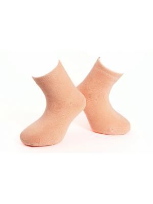 Носки махровые MilanKo. Цвет: оранжевый