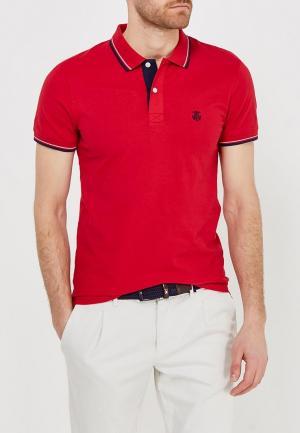 Поло Selected Homme. Цвет: красный