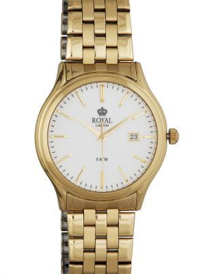 Часы Royal London 41187-03. Цвет: золотистый