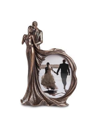 Фоторамка Влюбленные Veronese. Цвет: бронзовый