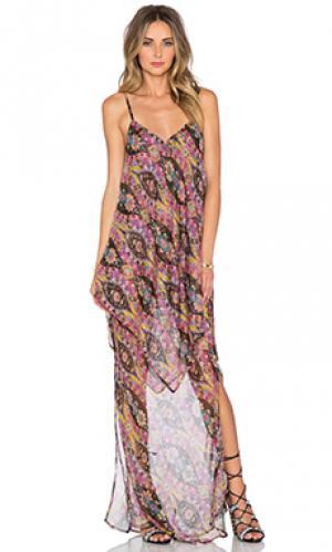 Макси платье height The Allflower Creative. Цвет: розовый