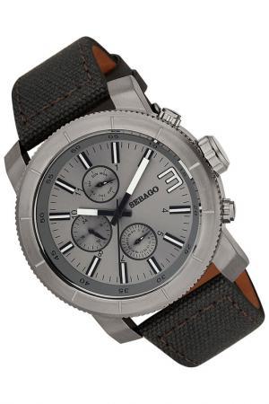 Часы Sebago. Цвет: серый