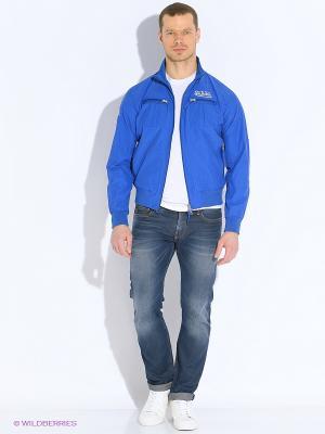 Куртка VON DUTCH. Цвет: индиго