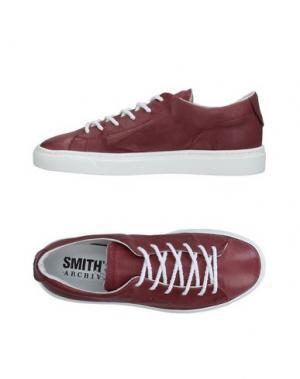 Низкие кеды и кроссовки SMITH'S AMERICAN. Цвет: красно-коричневый