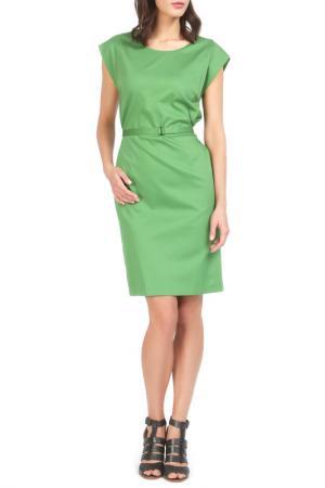 Платье Jones. Цвет: зеленый