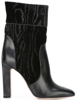 Ботинки по щиколотку Francesca Mambrini. Цвет: чёрный