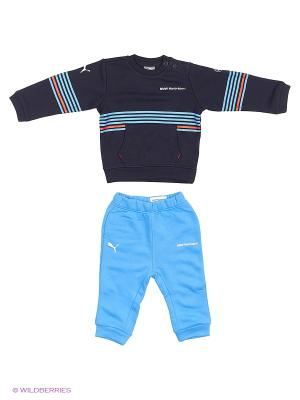 Костюм спортивный  BMW MSP Infants Jogger Puma. Цвет: синий