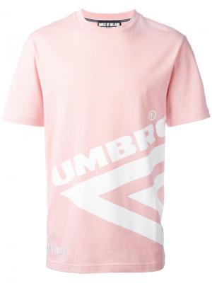 Топ House of Holland x Umbro. Цвет: розовый и фиолетовый