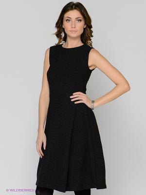 Платье ЭНСО. Цвет: антрацитовый