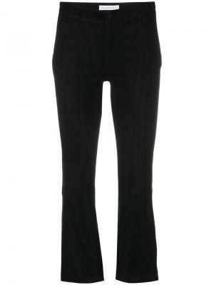 Расклешенные укороченные брюки Inès & Maréchal. Цвет: чёрный