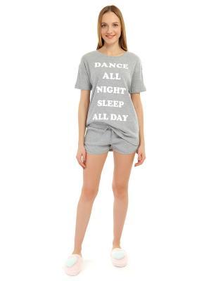 Пижама ТВОЕ. Цвет: светло-серый