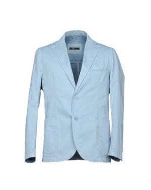 Пиджак RIVIERA. Цвет: небесно-голубой