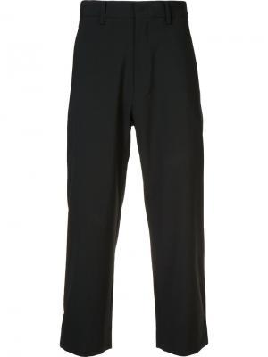 Укороченные брюки Second/Layer. Цвет: чёрный