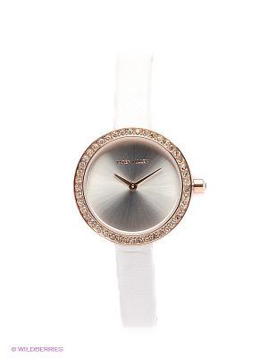 Часы KAREN MILLEN. Цвет: белый, золотистый