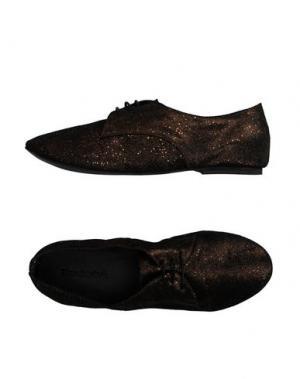 Обувь на шнурках KUDETÀ. Цвет: бронзовый
