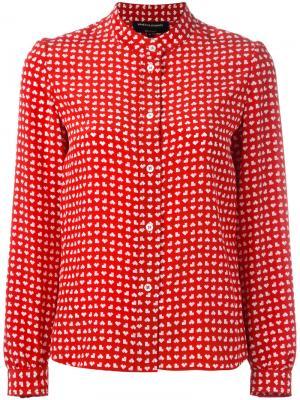 Bamboo shirt Vanessa Seward. Цвет: красный