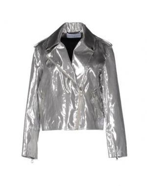 Куртка WANDA NYLON. Цвет: серебристый