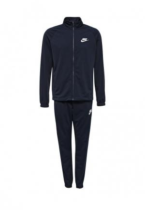 Костюм спортивный Nike. Цвет: синий