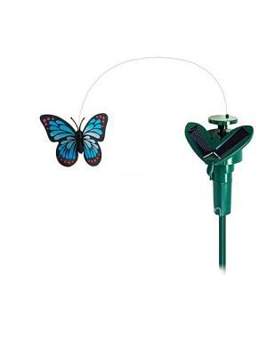 Сувенир-бабочка (солн. батарее) Aroma-Garden. Цвет: зеленый