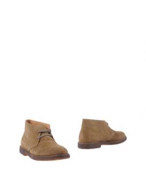 Полусапоги и высокие ботинки UIT. Цвет: зеленый-милитари