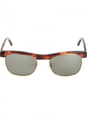 Солнцезащитные очки Chandler X Selima Optique. Цвет: коричневый