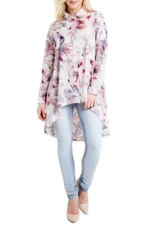Рубашка LOU-LOU. Цвет: multicolor