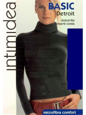 Водолазка Intimidea. Цвет: темно-синий