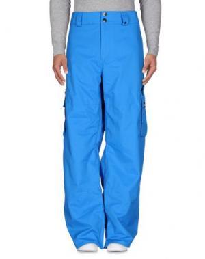 Лыжные брюки ANALOG. Цвет: лазурный