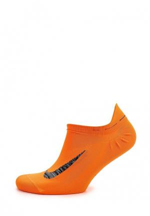 Носки Nike. Цвет: оранжевый