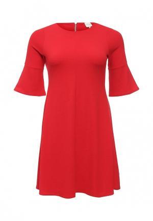 Платье Just Joan. Цвет: красный