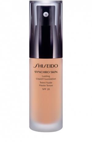 Устойчивое тональное средство Synchro Skin, оттенок Neutral 2 Shiseido. Цвет: бесцветный