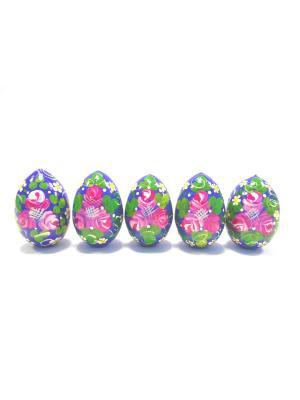 Пасхальные яйца - Синие Taowa. Цвет: синий, розовый